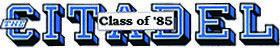 Citadel Class of '85
